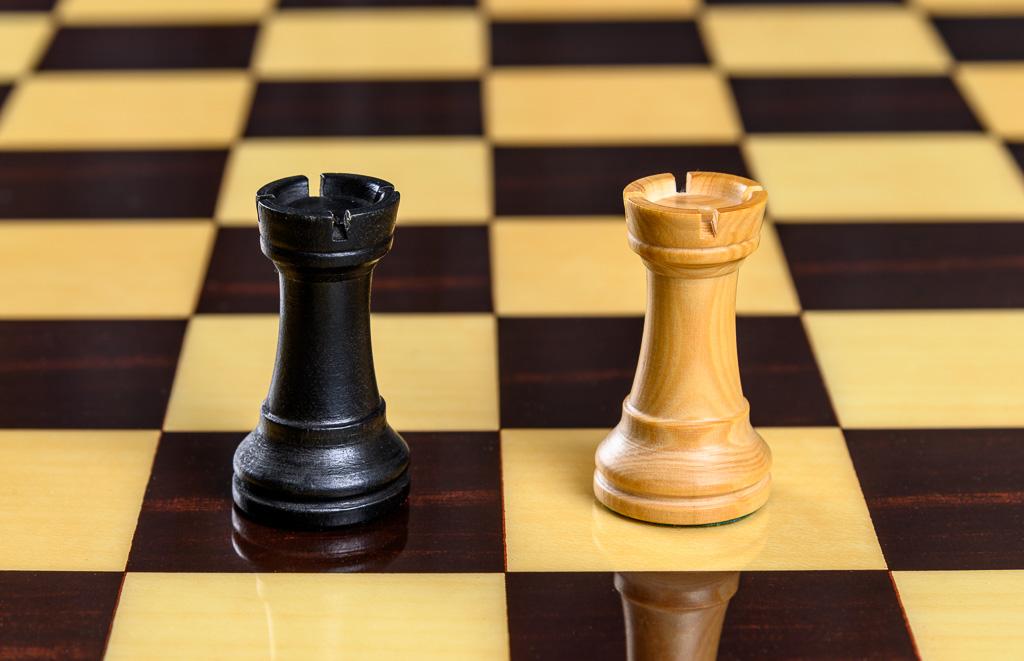 Tour jeu d'échecs