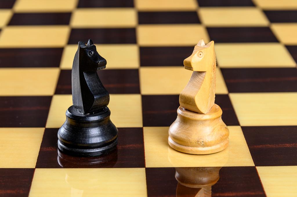 Cavalier jeu d'échecs
