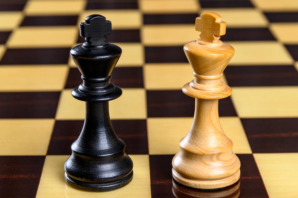 Roi jeu d'échecs